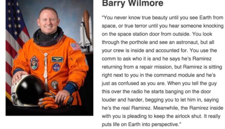 astronaught terror